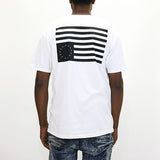 Black Scale B Tiger T-Shirt - White