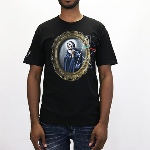 Black Scale Geomary T-Shirt - Black