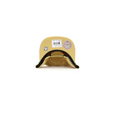 Chicago Bulls Metallic Foil SnapBack Hat - Gold