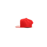 Atlanta Hawks Metallic Foil SnapBack Hat - Red