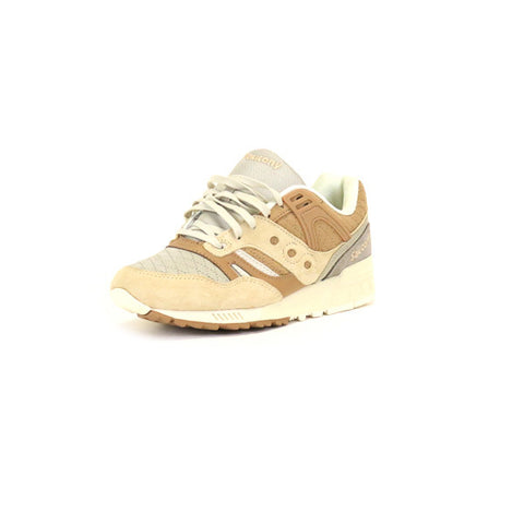 Saucony Grid SD Quilted - Grey/Light Tan