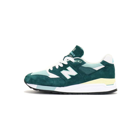 New Balance 998 Explore by the Sea - Green w/ Off White