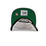 San Antonio Spurs XL Log 2T Snapback Hat - White