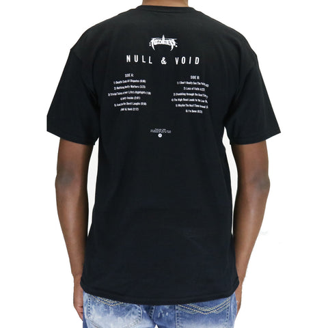10 Deep Null Intent Album T-Shirt - Black