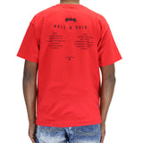 10 Deep Null Intent Album T-Shirt - Red