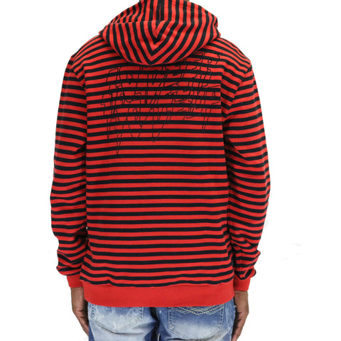 10 Deep Sound & Fury Hoodie - Red
