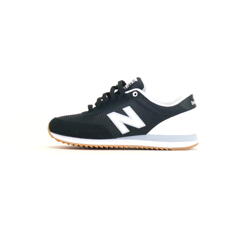New Balance 501 Ripple Sole  - Black / White