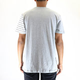 Staple Pigeon Contagion Pieced Tee T-Shirt - Heather