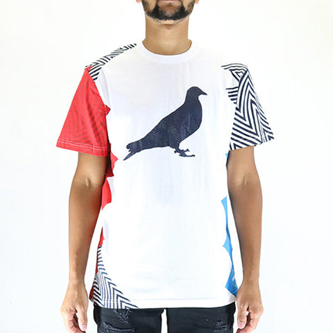 Staple Pigeon Abstract Pigeon Tee T-Shirt - White