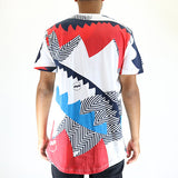 Staple Pigeon Abstract Allover Tee T-Shirt - Navy