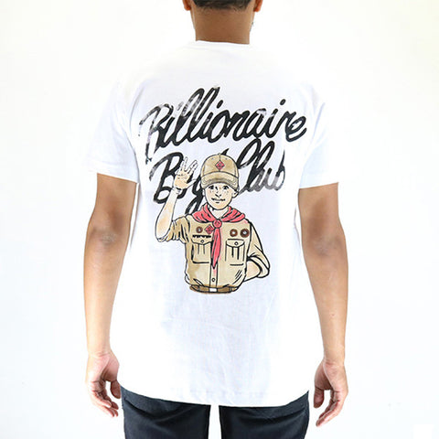 Billionaire Boys Club Troops SS Tee - White