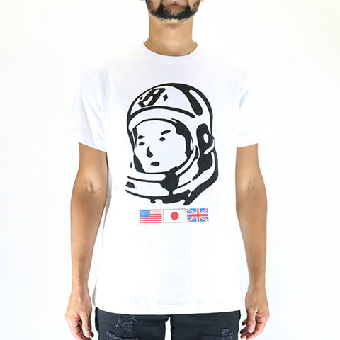 Billionaire Boys Club Helmet SS Tee - White