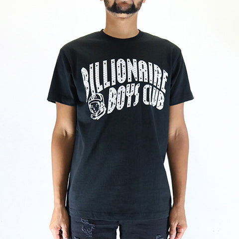 Billionaire Boys Arch Logo Reflect Ski Grid Knit - Black