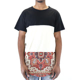 Civil Regime Bradely Kesh Drop Tee - Black