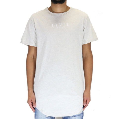 Civil Regime Lowe Drop Tee Shirt - Oat