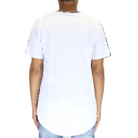 Dope No.14 Grey Scoop T-Shirt - White