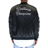 Dope Worldwide Varsity Jacket - Black