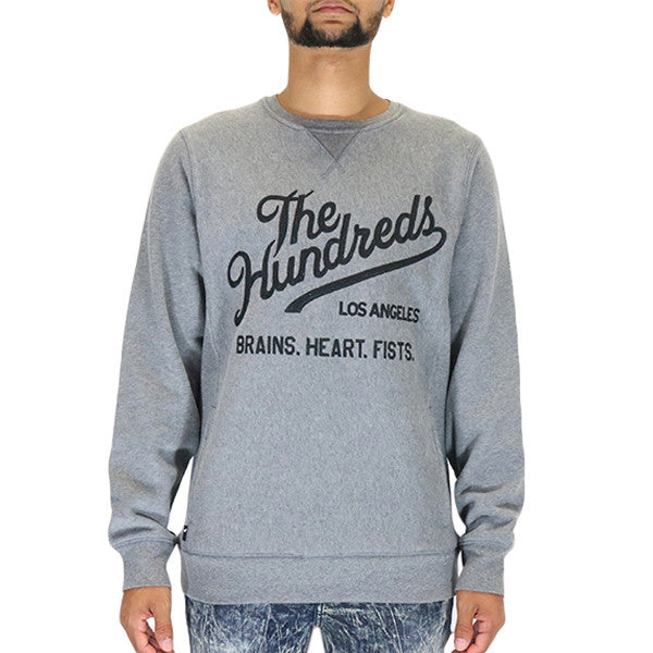 The Hundreds Traditional Crewneck T-Shirt - Athletic Heather