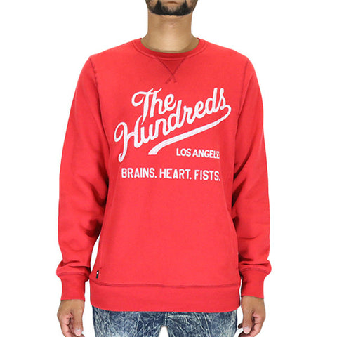The Hundreds Traditional Crewneck T-Shirt - Red