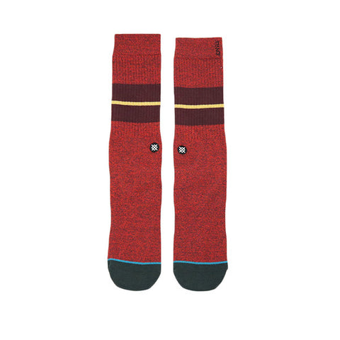 Stance Sequoia 2 Maroon Socks