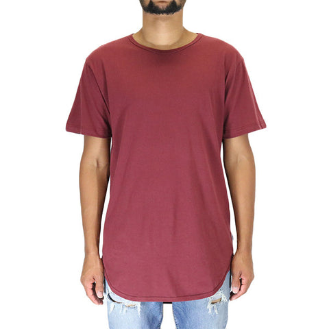 EPTM Long Basic T-Shirt - Burgundy