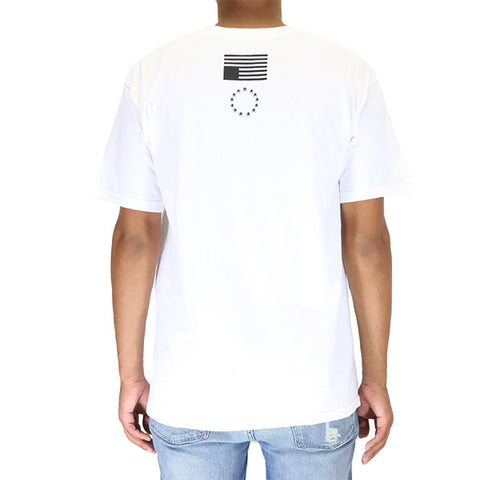 Black Scale Prophet's Sigil T-Shirt - White