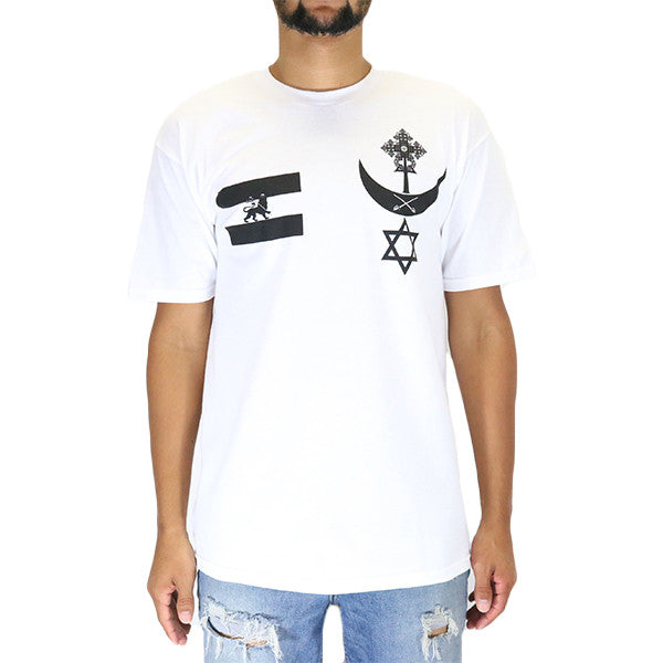 4200a55ae67 Black Scale Conquering Lion T-Shirt - White ...