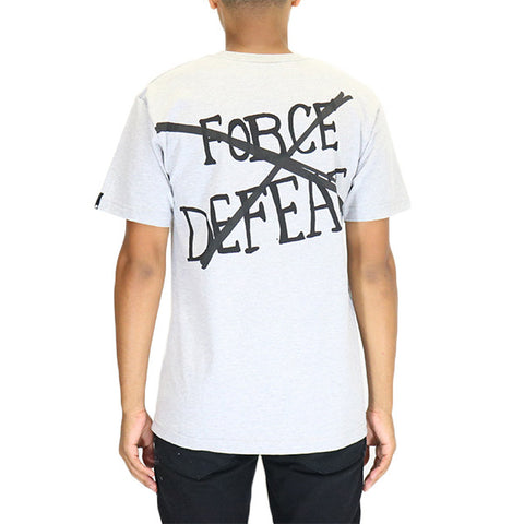Undefeated Force Defeat T-Shirt - Grey Heather