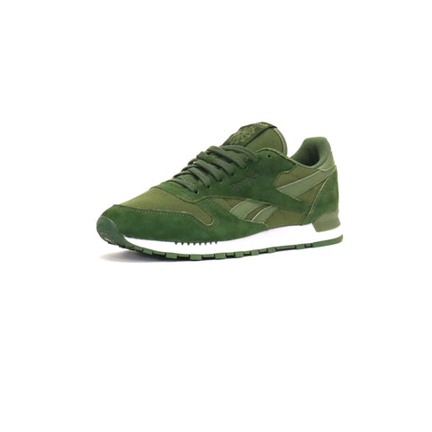 Reebok Classic Leather Clip Ele - Moss/Primal/Green