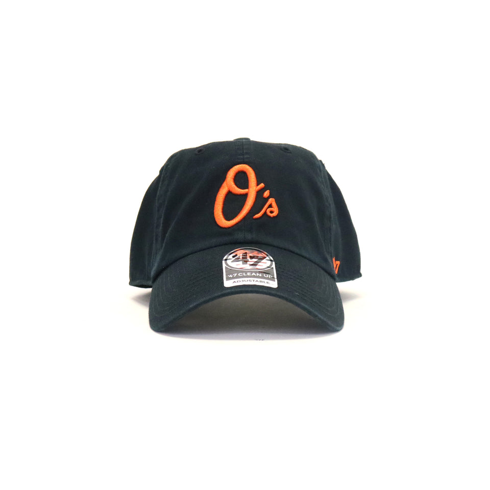 Baltimore Orioles Rebound Clean Up StrapBack Dad Hat - Black  7a8f280a09c