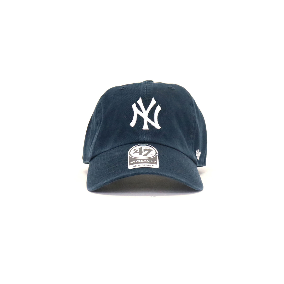 3aa9f459091 New York Yankees Clean Up Home StrapBack Dad Hat - Navy