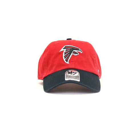 Atlanta Falcons Clean Up Two StrapBack Dad Hat - Red