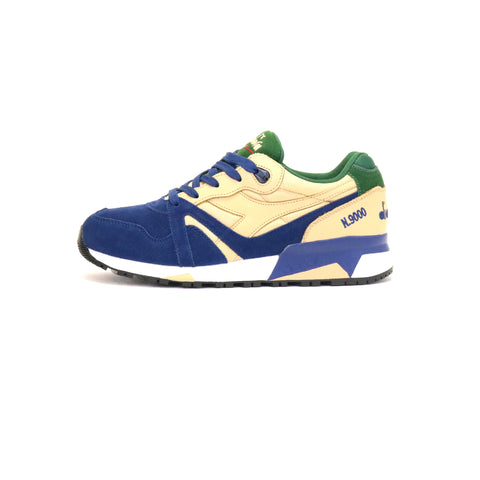 Diadora N9000 Double L - Sand/Blue/Green