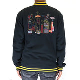 Billionaire Boys Club Cotton Varsity Jacket - Black
