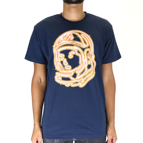 Billionaire Boys Club Helmet Lights SS Tee - Navy Blazer