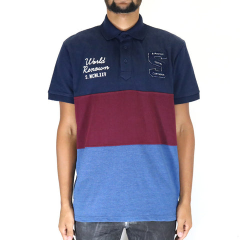 Staple Pigeon Academy Polo - Indigo