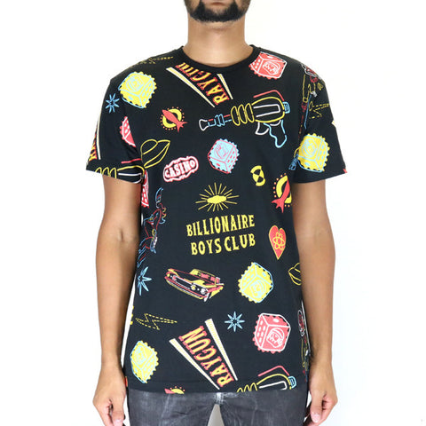 Billionaire Boys Club Vegas Icons SS Knit Tee - Black