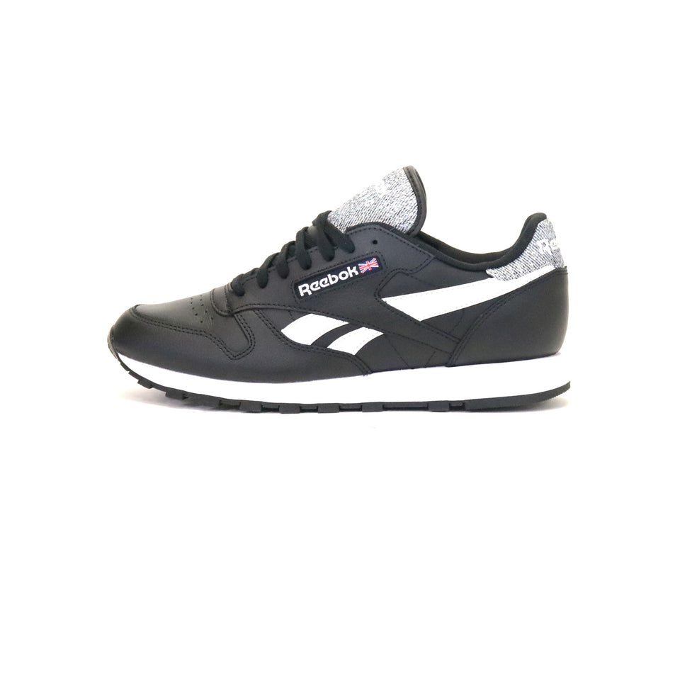 a31801bfea00 Reebok Classic Leather Pop - Black White ...