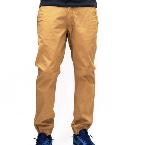 Jordan Craig Chino Jogger Pants - Wheat