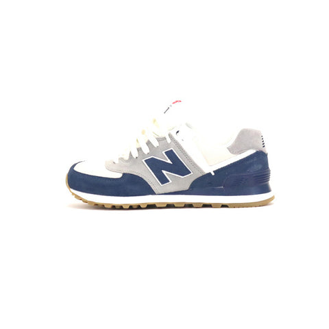 New Balance ML 574 RSC - White/Blue