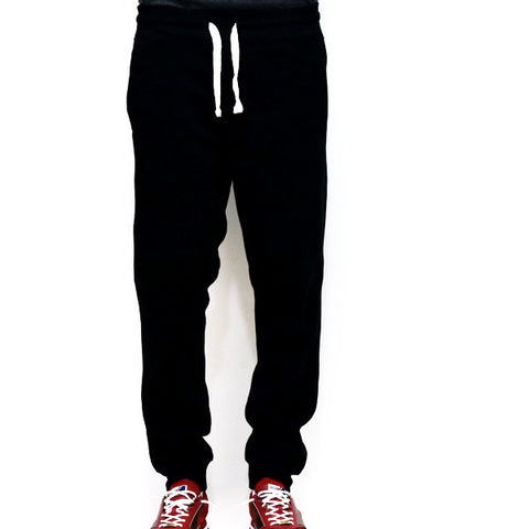 PJ Mark Basic Fleece Jogger Pants - Black