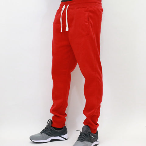 PJ Mark Basic Fleece Jogger Pants - Red