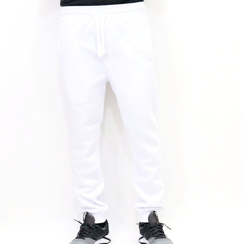 PJ Mark Basic Fleece Jogger Pants - White
