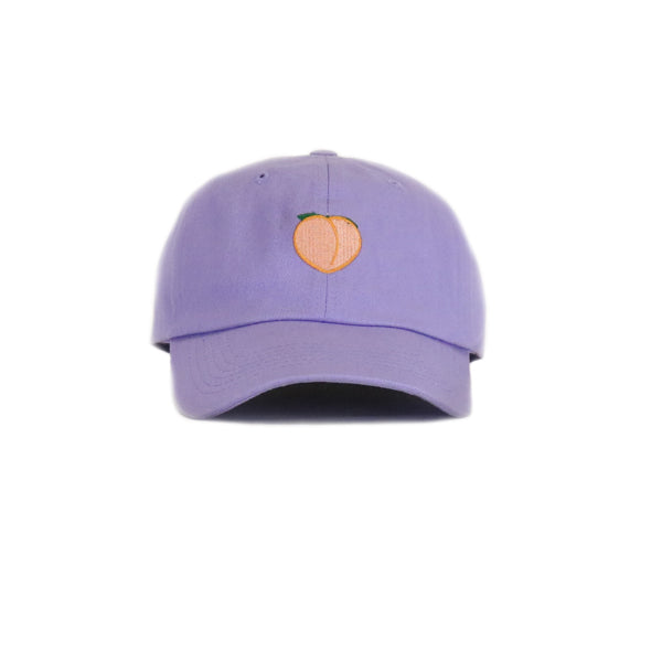 Any Memes Peach Dad Hat - Purple