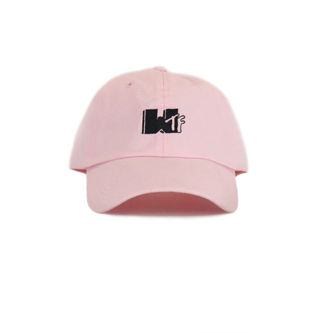 Any Memes WTF Dad Hat - Pink