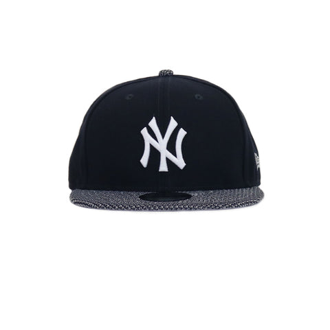 New York Yankees Knit Vize Neyyan Snapback Hat - Navy