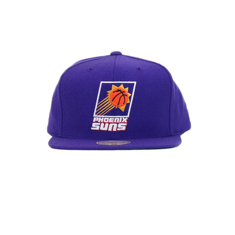 Phoenix Suns Wool Solid Snapback Hat - Purple