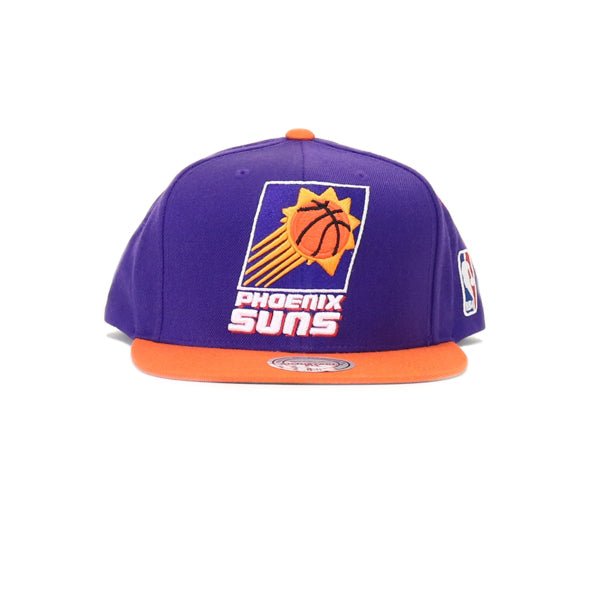 Phoenix Suns  XL Logo Two Tone Snapback Hat - Purple
