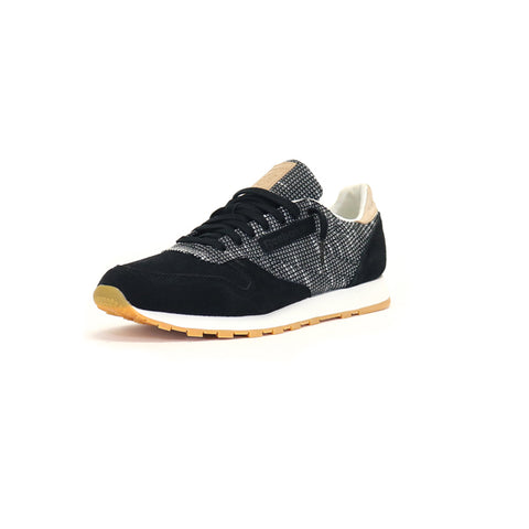 Reebok Classic Leather EBK - Black/Star Gray