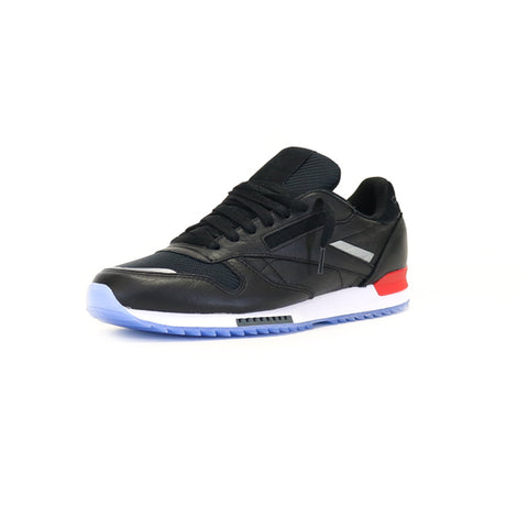 Reebok Classic Leather Ripple Low - Black / White / Red
